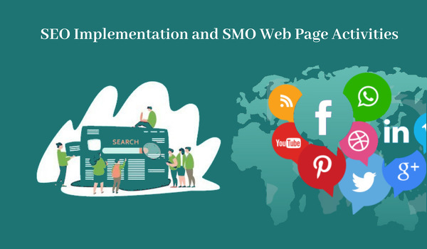 SEO- implementation- and -SMO-Web- page-activities