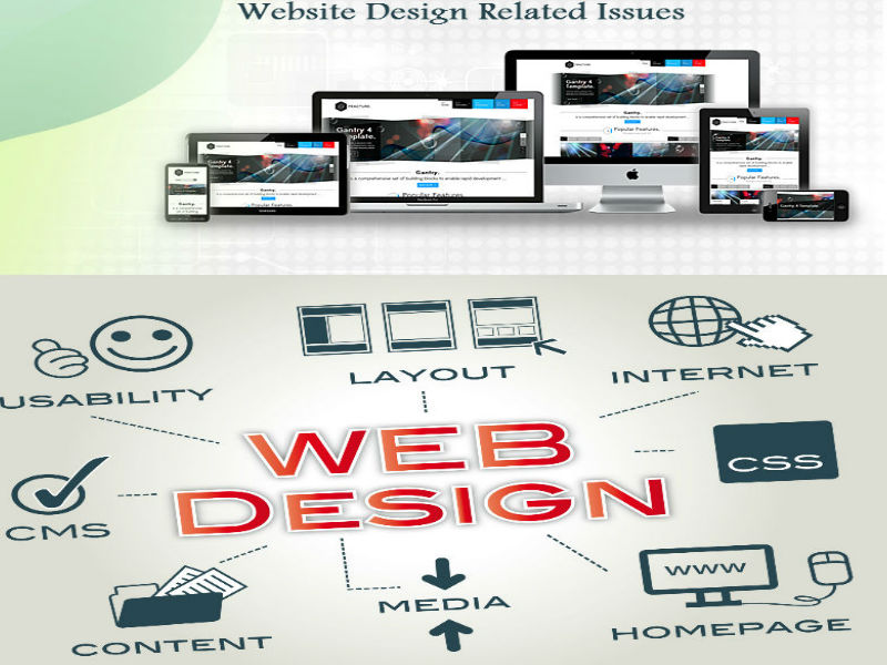 Website Design Related Issues